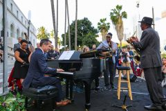 Reloaded twaddle – RT @SteinwayAndSons: #LALALANDDAY was a hit in LA, including @MayorOfLA's jazz p...