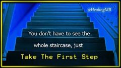Reloaded twaddle – RT @HealingMB: Take your first step .. #Recovery #Healing #NeverGiveUp #Mindfuln...