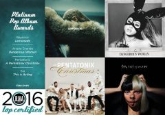 Reloaded twaddle – RT @RIAA: 2016's four Platinum Pop Album Awards go to @Beyonce @ArianaGrande @PT...