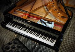 Reloaded twaddle – RT @KawaiPianos: Great overhead shot of a Shigeru KAWAI grand piano  #KAWAI #pia...