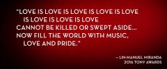Reloaded twaddle – RT @TheTonyAwards: The power of love.@Lin_Manuel @TheTonyAwards #valentines ...