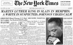 Reloaded twaddle – RT @NYTArchives: Rev. Dr. Martin Luther King Jr. is slain in Memphis on this day...