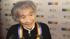RT @kencen: Seiji Ozawa on when he first heard that he was being recognized at #KCHonors. https://t....