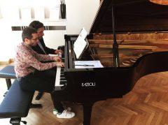 Reloaded twaddle – RT @Fazioli_Pianos: Luca Ciammarughi and Sandro Ivo Bartoli rehearsing at our #F...