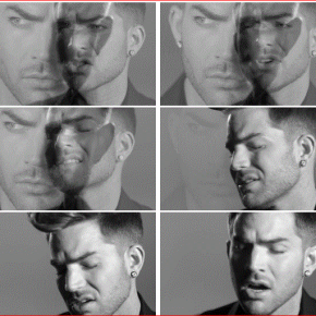 "RT @saharjojo10: #Nowplaying   ADAM LAMBERT   - ""Ghost Town"" [Official Music Video] https:..."