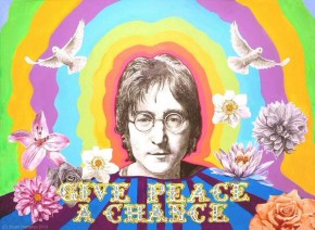 RT  @Desolationway: Happy 'John Lennon Day' 'Give Peace a Chance' 💜 💖 &#...