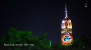 RT @nytimes: Giant images of endangered species were projected on the Empire State Building on Satur...