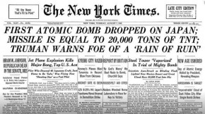 RT @nytimesworld: 70 years ago, first atomic bomb destroyed Hiroshima and ushered in the atomic age....