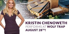RT @KChenoweth: I'm coming to the DC area and I want to see you at @Wolf_Trap this Friday, Aug. 28! ...