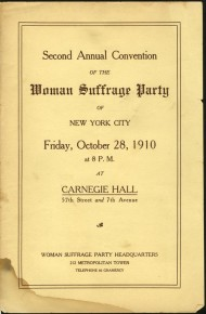 RT @carnegiehall: Suffragettes met at Carnegie Hall from 1908—1919: http://t.co/2ZXPSCGM1N #WomensEq...