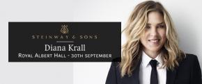 RT @SteinwayHallUK: Grammy winning Steinway Artist Diana Krall plays Royal Albert Hall on Wednesday ...
