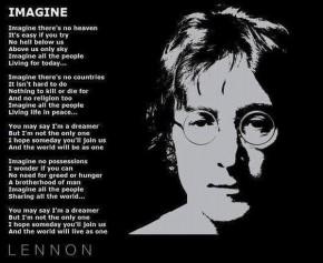 """RT @HistoryTime_: October 8, 1971 - John Lennon releases his megahit """"Imagine"""" http://t.co..."""