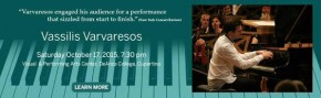 RT @Varvaresos_V: To all of you in the US: Vassilis is performing on Saturday at the De Anza Perform...