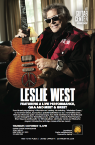 RT @lwestmountain: Just over two weeks till my ​#workshop on 11/19 at @guitarcenter Manhattan​! #LOU...