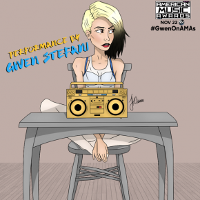 """RT @TheAMAs: .@gwenstefani will return to the #AMAs stage to perform """"Used to Love You"""" on..."""