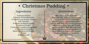 RT @HRP_palaces: It's Stir-up Sunday! This is the first recorded recipe of the Christmas pud as we k...