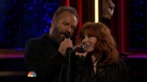 "RT @mylenenet: #MylèneFarmer et #Sting invités du ""Tonight Show"" de Jimmy Fallon. Les vidé..."