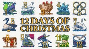 RT @RC1023FM: All the gifts in the Twelve Days of Christmas would equal 364 gifts!#RCFunFacts #con...