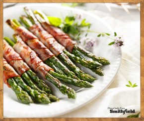 RT @SmithfieldBrand: Here is some #baconspiration for your holiday menu: Bacon Wrapped Asparagus htt...