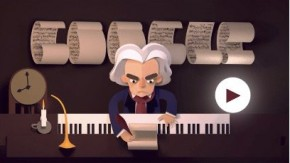 RT @DGclassics: Have you seen today's #GoogleDoodle? https://t.co/y6WWKeYiqK #Beethoven https://t.co...