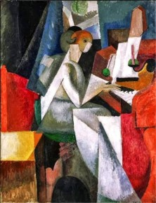 RT @olgatuleninova: Albert Gleizes, Woman at the Piano, 1914 https://t.co/3OmlAfjeyH