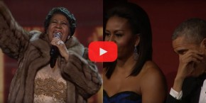 RT @harpersbazaarus: WATCH: @ArethaFranklin performs 'Natural Woman' at Kennedy Center Honors, makes...