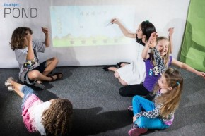 RT @GoTouchjet: Small group collaboration using the #TouchjetPond #projector. #classroom #Math Learn...
