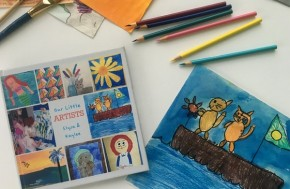 RT @SnapfishUS: Compile your kids' proudest artwork into a beautiful keepsake photo book! #ontheblog...