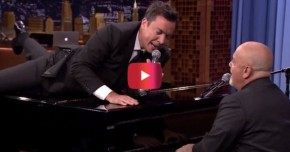 RT @Rare: Jimmy Fallon and Billy Joel singing this Rolling Stones classic at the piano is pure... ht...