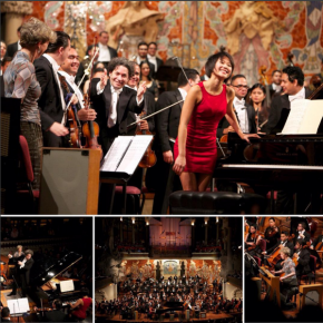 RT @GustavoDudamel: First evening of the tour @palaumusicacat w/ @YujaWang, Simón #Bolívar Symphony ...