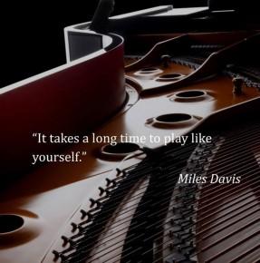 """RT KawaiPianos @KawaiPianos: """"It takes a long time to play like yourself."""" Miles Davis #KA..."""
