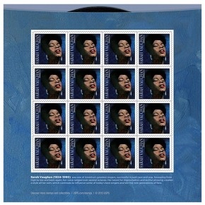 RT The Jonathan Channel @jonathanwnyc: Today the @USPS honors one of America's great singers, Sarah ...