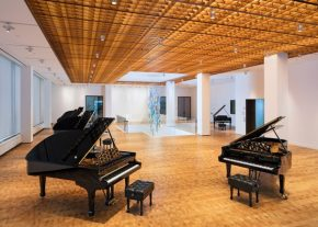 RT Dezeen @Dezeen: Annabelle Selldorf designs New York showroom for piano maker Steinway & S...