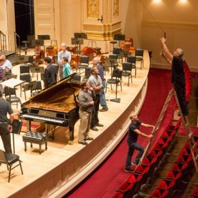 RT Carnegie Hall @carnegiehall: What does it take to get Carnegie Hall ready for a concert? https://...