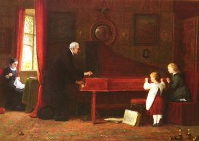 Reloaded twaddle – RT Classic FM @ClassicFM: Frederick Daniel Hardy: The piano tuner, 1881. https:/...