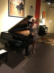 Reloaded twaddle – RT @PianoPlanetHI: Olga Kern with our Steinway concert grand, practicing before ...