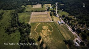 Reloaded twaddle – RT @nytimes: Beethoven is big in the Catskills. A giant portrait, in grass on a ...