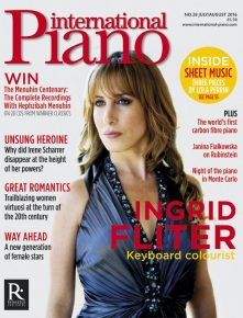 Reloaded twaddle – RT @IP_mag: IP celebrates women pianists past and present in our July/August iss...