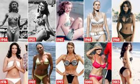 Reloaded twaddle – RT @MailOnline: 70 years of the bikini: From Marilyn Monroe to Kelly Brook https...
