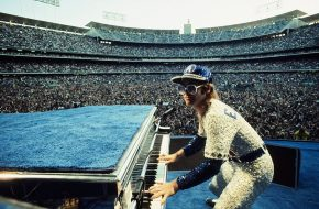 Reloaded twaddle – RT @Terry_ONeill: Elton John performs at Dodger Stadium, 25th & 26th Oct...