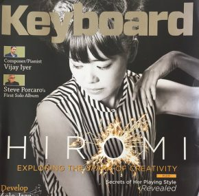 Reloaded twaddle – RT @jonregen: My new cover story for @KeyboardMag is out featuring HIROMI and @j...