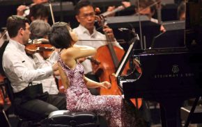 Reloaded twaddle – RT @YujaWang: 🎷🎺❤️🎻🎹@HollywoodBo...