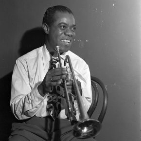 Reloaded twaddle – RT @jazzdotorg: Happy Birthday to the one and only #LouisArmstrong. Photograph C...