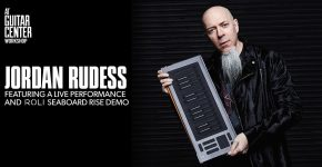 Reloaded twaddle – RT @WeAreROLI: .@Jcrudess is giving a #SeaboardRISE workshop at @guitarcenter #U...