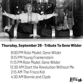 Reloaded twaddle – RT @tcm: #TCMRemembers Gene Wilder on Thursday, September 29 with a full night o...