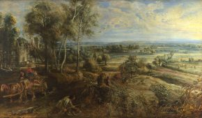 Reloaded twaddle – RT @NationalGallery: Here's an autumnal scene painted by Rubens on the first day...