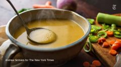 Reloaded twaddle – RT @nytimes: Soup season is here. Take comfort in this one-hour vegetable soup. ...