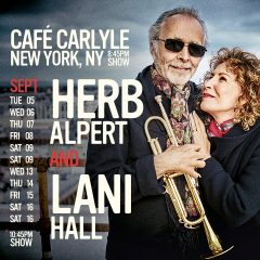 Reloaded twaddle – RT @HerbAlpert: Herb Alpert & Lani Hall are heading to @TheCarlyleHotel ...