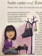 Reloaded twaddle – RT @AMusicland: Alice Sara Ott in the August 2017 issue  of BBC Music Magazine. ...