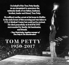 Reloaded twaddle – RT @tompetty: Full statement: https://t.co/FGCVI5yIaa